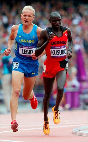 Сергей Лебедь в предварительном забеге был 18-м из 22-х участников.