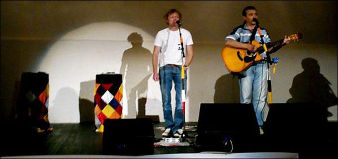 Игорь Касилов (в центре) — ранние годы