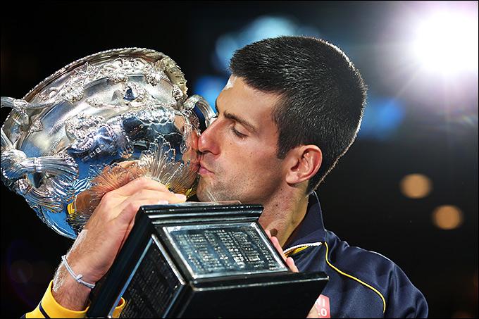 Джокович завоевал третий австралийский кубок подряд
