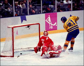 Победный гол Петера Форсберга на Олимпиаде-1994