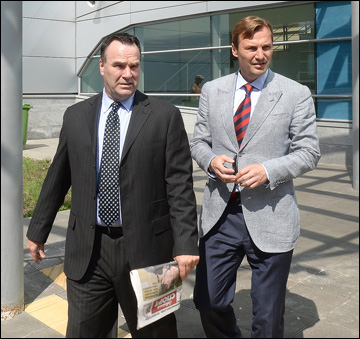 Джон Торчетти и Сергей Фёдоров