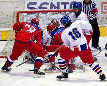 Юниорская (до 17 лет) сборная России на Турнире четырех наций в Швейцарии