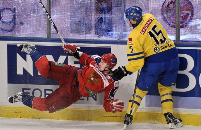 12 февраля 2011 года. Стокгольм. Евротур. Шведские игры. Швеция — Россия — 6:2.