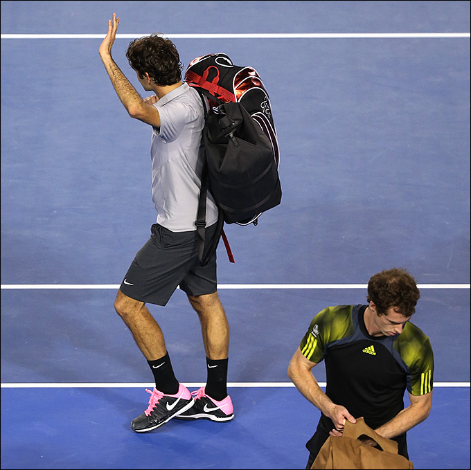 Федерер потерпел поражение от Маррея