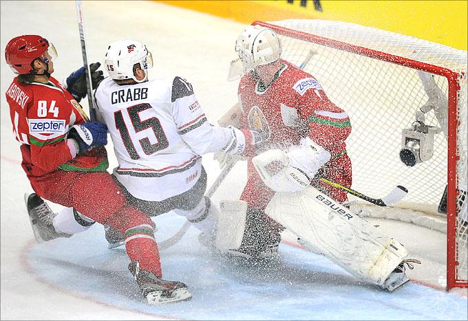 10 мая 2012 года. Хельсинки. Чемпионат мира. Групповой турнир. США — Белоруссия — 5:3