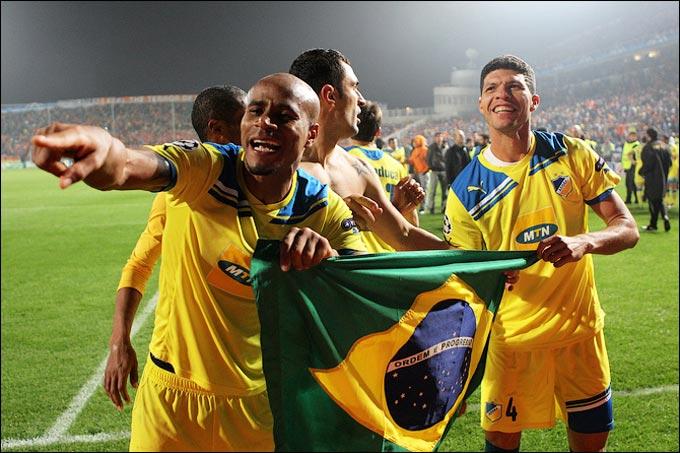 Бразильские легионеры АПОЭЛ