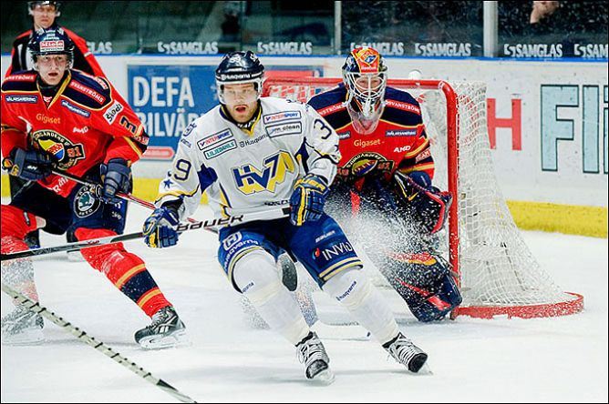 "Финалисты чемпионата Швеции — ХВ-71 и ""Юргорден""."