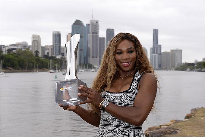 Серена Уильямс победила в Брисбене