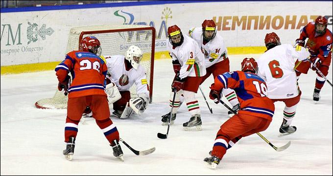 Юниорская (до 16 лет) сборная России на Кубке президентского спортивного клуба в Белоруссии