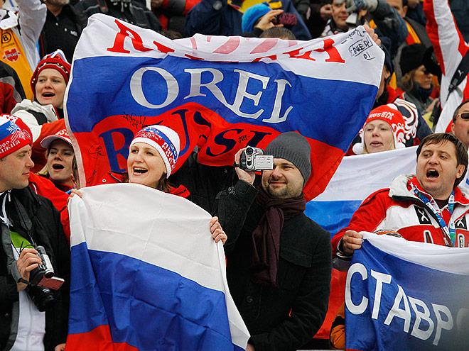 Российские болельщики снова не увидели подиума своих кумиров