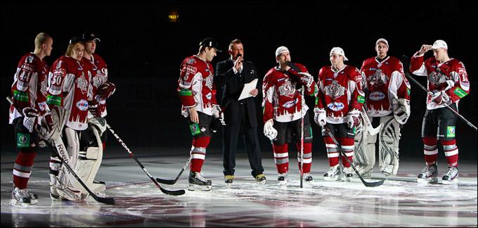 Рига: закрытие хоккейного сезона
