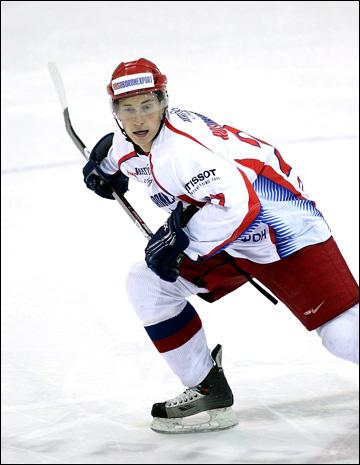 Дмитрий Кугрышев в молодежной сборной России (2009 год)