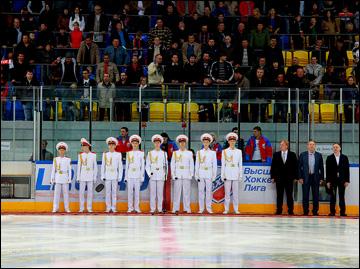 Открытие хоккейного сезона в Красноярске