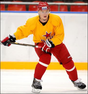 Дмитрий Кугрышев на тренировке