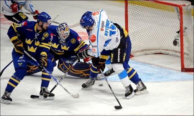 13 февраля 2011 года. Стокгольм. Еврохоккейтур. Шведские игры. Швеция — Финляндия — 3:2.