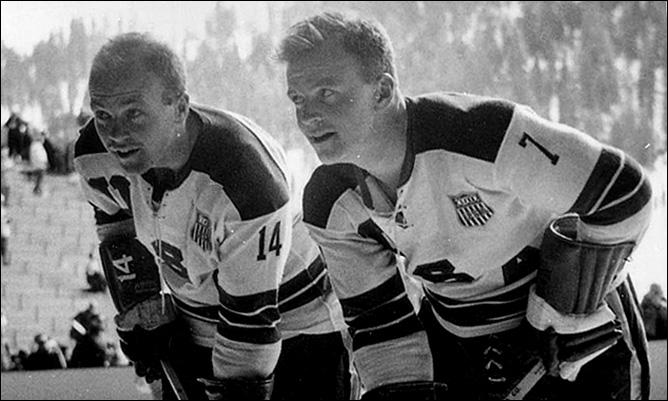 Билл Клири (справа), 1960 год