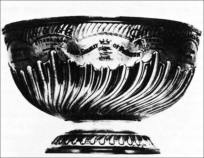 История Кубка Стэнли. Сезон 1892/93. Первый Кубок Стэнли.