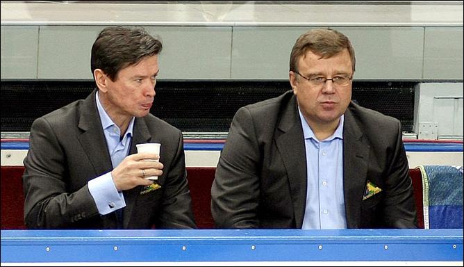 Вячеслав Быков и Игорь Захаркин. Фото 03.