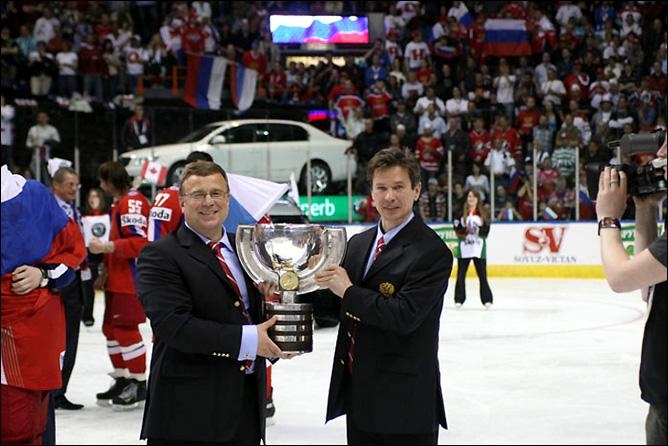 Вячеслав Быков и Игорь Захаркин. Фото 05.