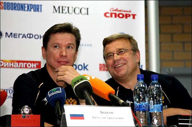 Вячеслав Быков и Игорь Захаркин. Фото 06.