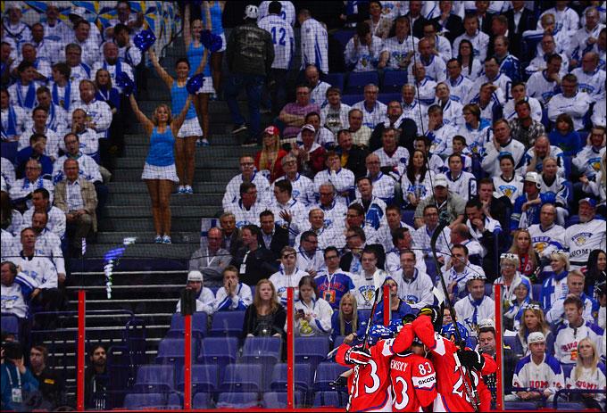 20 мая 2012 года. Хельсинки. Чемпионат мира. Матч за третье место. Финляндия — Чехия — 2:3