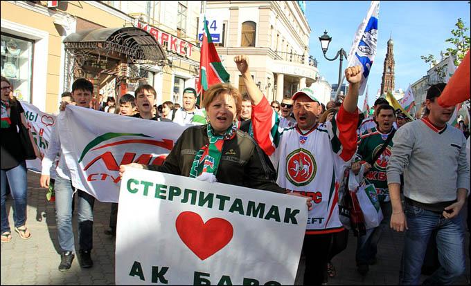 """Праздник болельщиков """"Ак Барса"""""""
