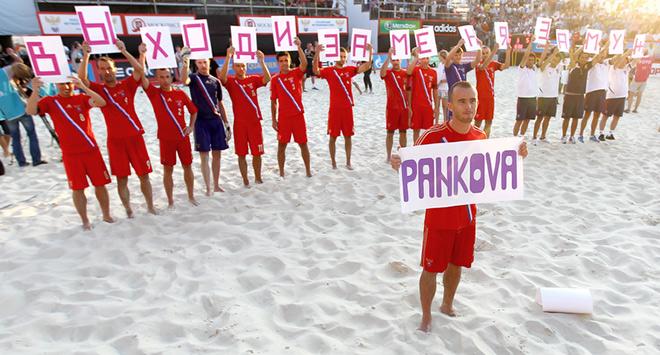 Антон Шкарин сделал предложение своей девушке несмотря на чувствительное поражение от испанцев в квалификационном турнире к чемпионату мира