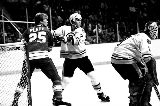 Рэй Бурк в начале своей карьеры. Бостон, 70-е годы