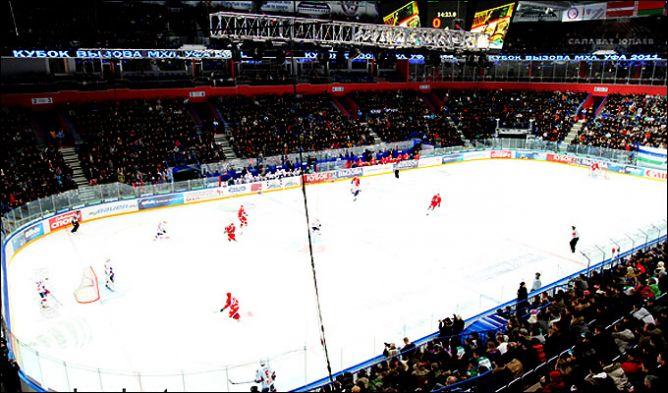 Матч всех звёзд МХЛ-2011 в Уфе.