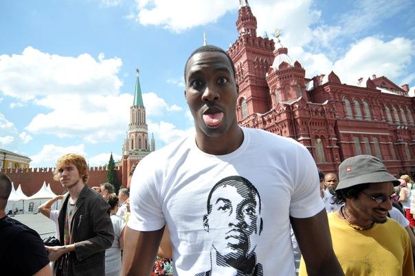 Дуайт Ховард в Москве