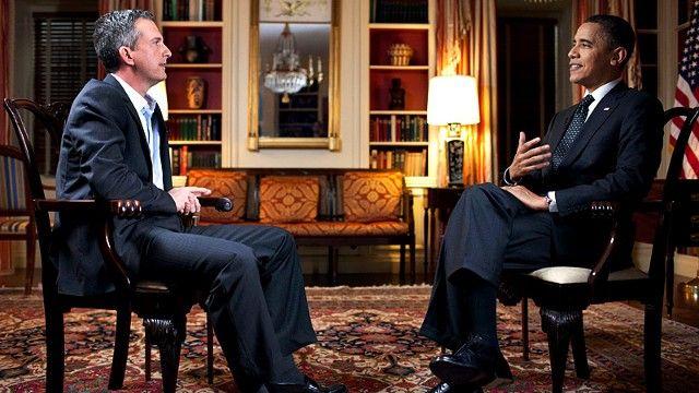 Бил Симмонз и Барак Обама