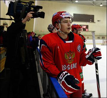Капитан молодежной сборной России Евгений Кузнецов