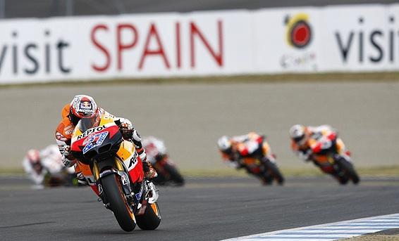 Радиация MotoGP не помеха