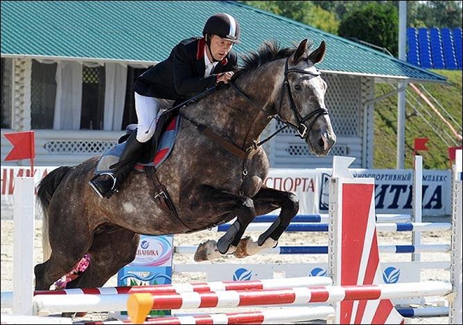 Конкур является очень зрелищной дисциплиной конного спорта