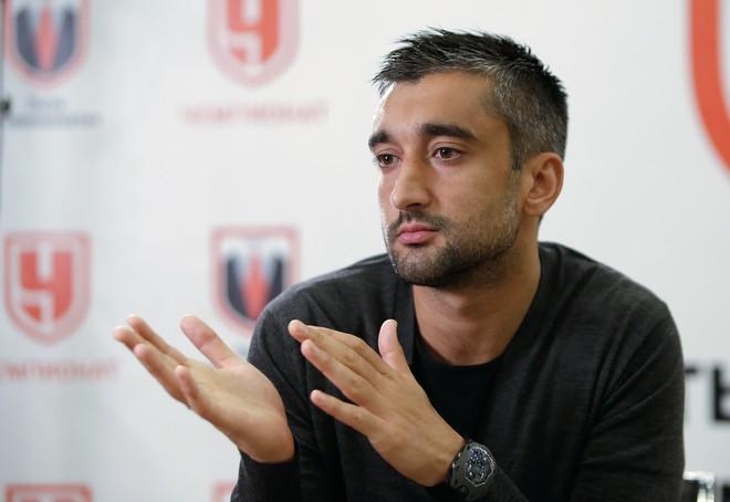 Александр Самедов: Есть цель – выиграть золото со «Спартаком» (Видео)