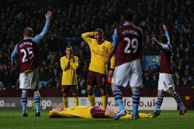 """24 ноября 2012 года. """"Астон Вилла"""" — """"Арсенал"""""""