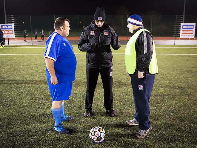 Men V Fat Football League