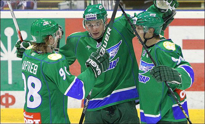 """Уфимский """"Толпар"""" — одна из двух команд МХЛ, обеспечивших себе участие в плей-офф"""