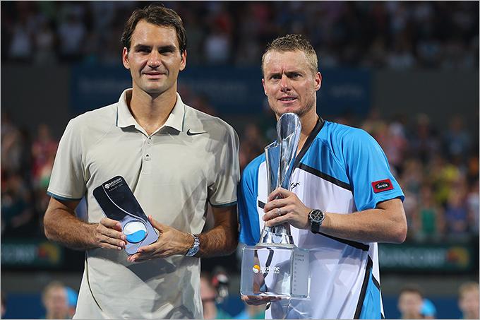 Хьюитт завоевал титул в Брисбене, обыграв Федерера