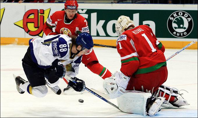 Евгений Рымарев против сборной Белоруссии