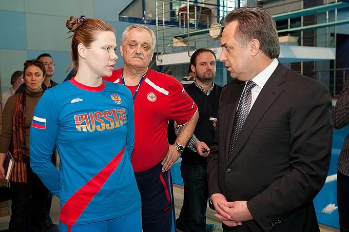 Виталий Мутко и Ольга Беляева