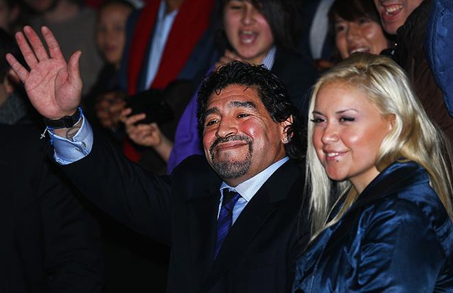 Диего Марадона никак не разберётся со своей личной жизнью
