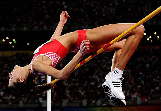 Прыжок, принесших Бланке единственную в её карьере медаль Летних игр