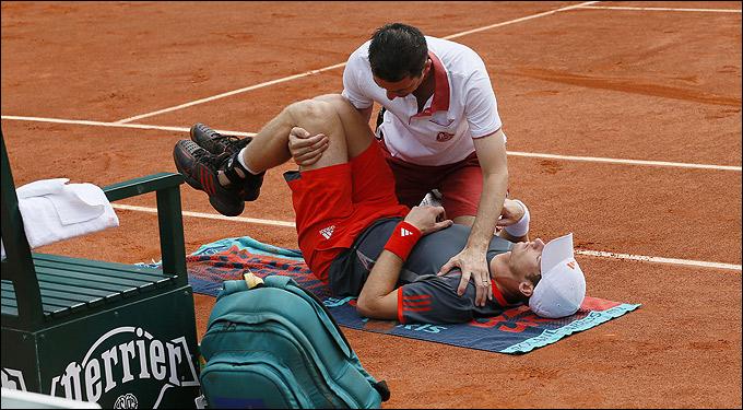 Энди обыграл Яркко, несмотря на проблемы со спиной