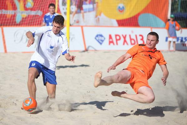 Московский песок стал счастливым для Фернандо