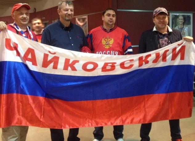 Сергей Гимаев с болельщиками