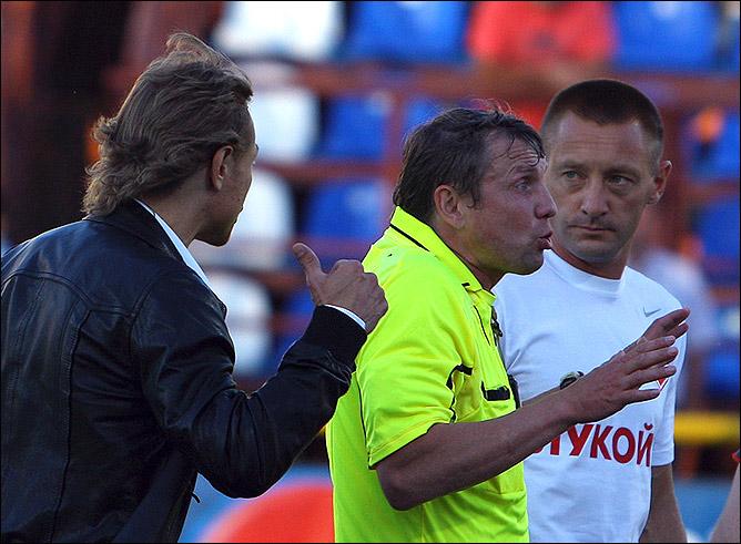 Валерий Карпин и Игорь Егоров