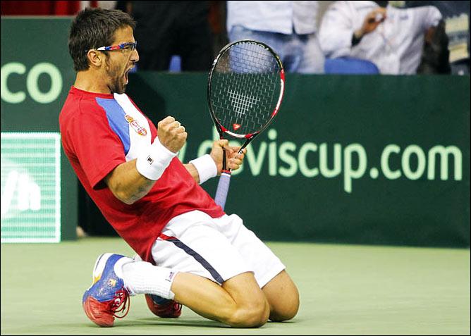 Две победы Янко Типсаревича обеспечили Сербии победу