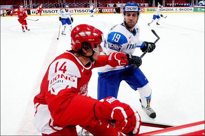 Кирилл Старков против сборной Италии