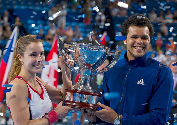 Цонга и Корне принесли Франции Кубок Хопмана